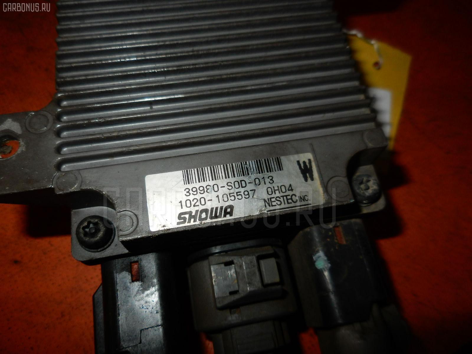Блок управления электроусилителем руля HONDA ACCORD WAGON CF6 F23A. Фото 7