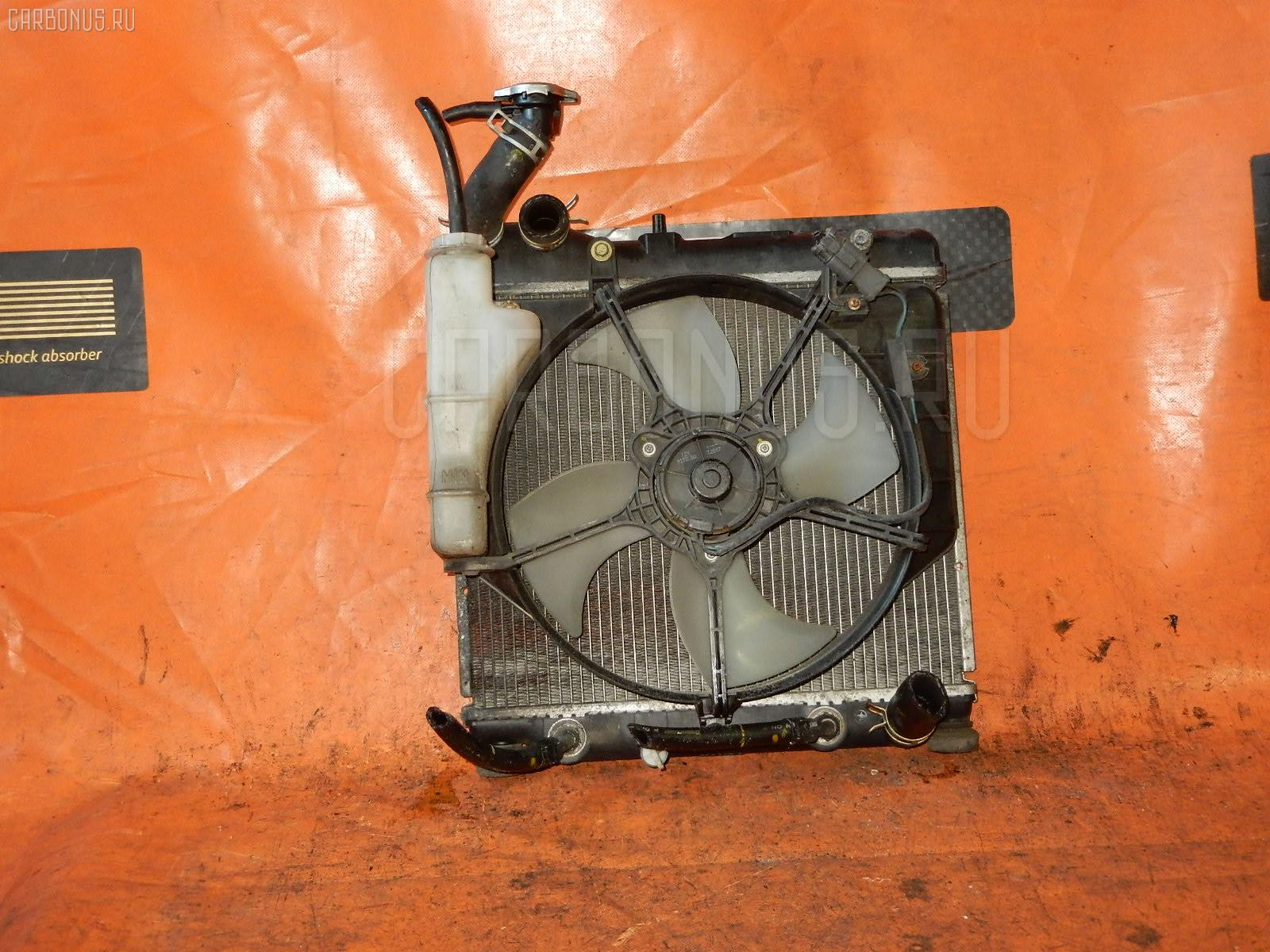 Радиатор ДВС HONDA FIT GD2 L13A. Фото 8