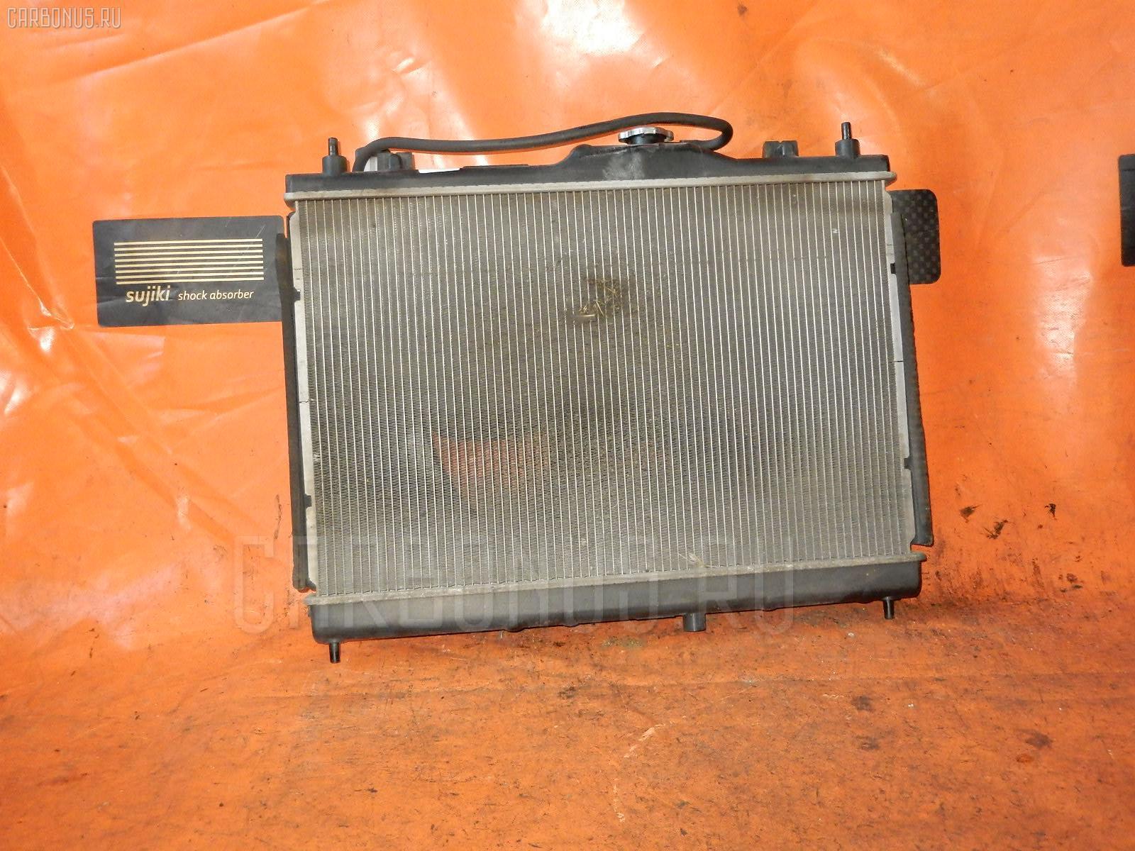 Радиатор ДВС NISSAN WINGROAD Y12 HR15DE. Фото 1