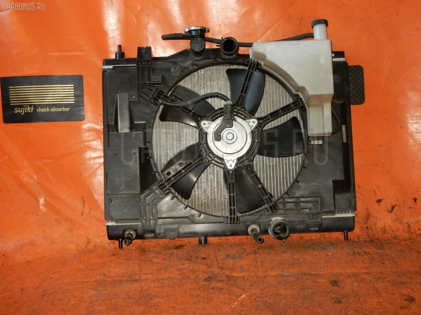 Радиатор ДВС NISSAN WINGROAD Y12 HR15DE. Фото 2