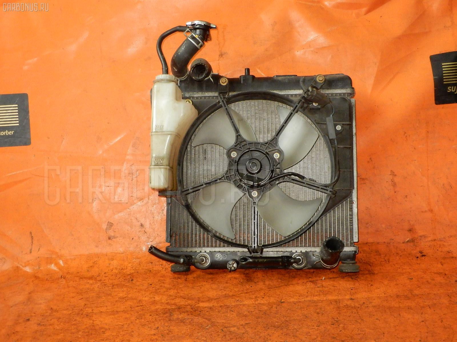 Радиатор ДВС HONDA FIT GD2 L13A. Фото 11