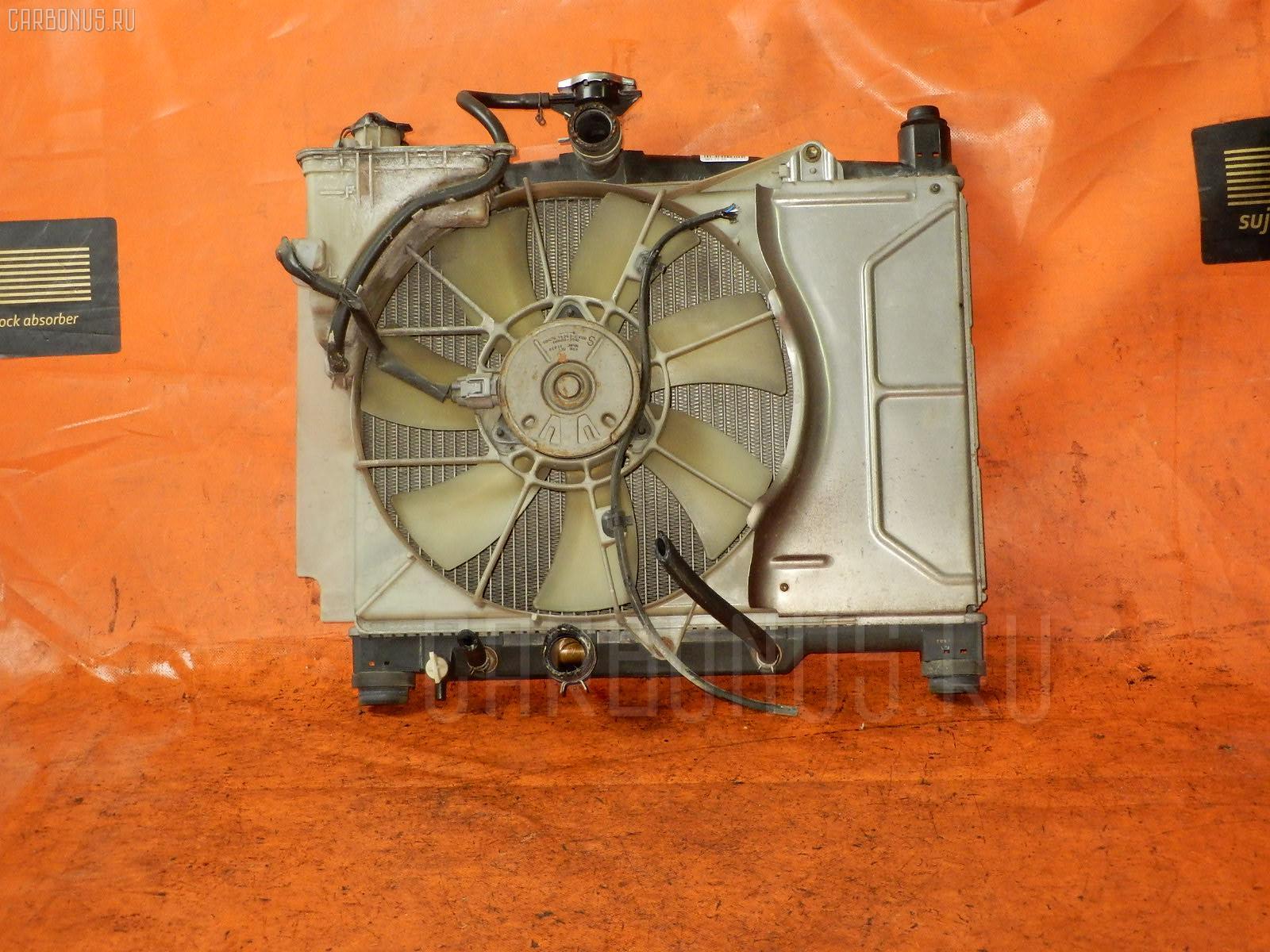 Радиатор ДВС TOYOTA VITZ SCP10 1SZ-FE. Фото 6