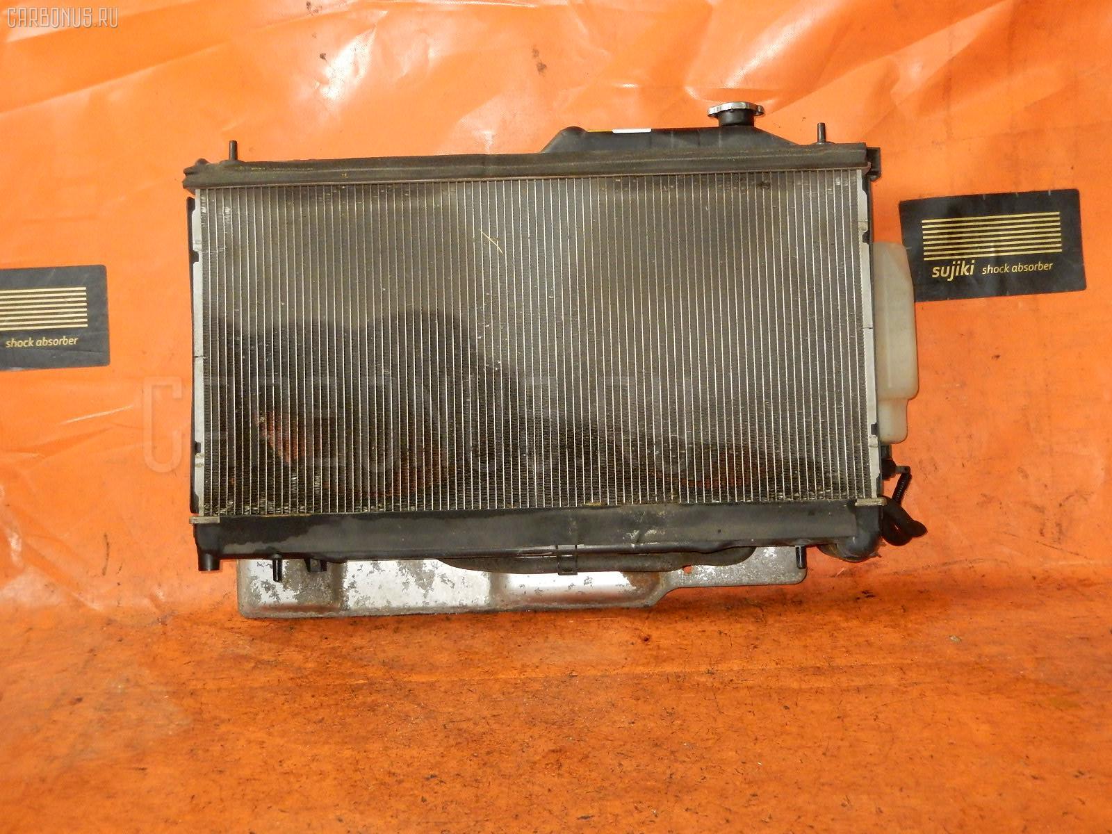 Радиатор ДВС SUBARU LEGACY WAGON BP5 EJ20. Фото 9