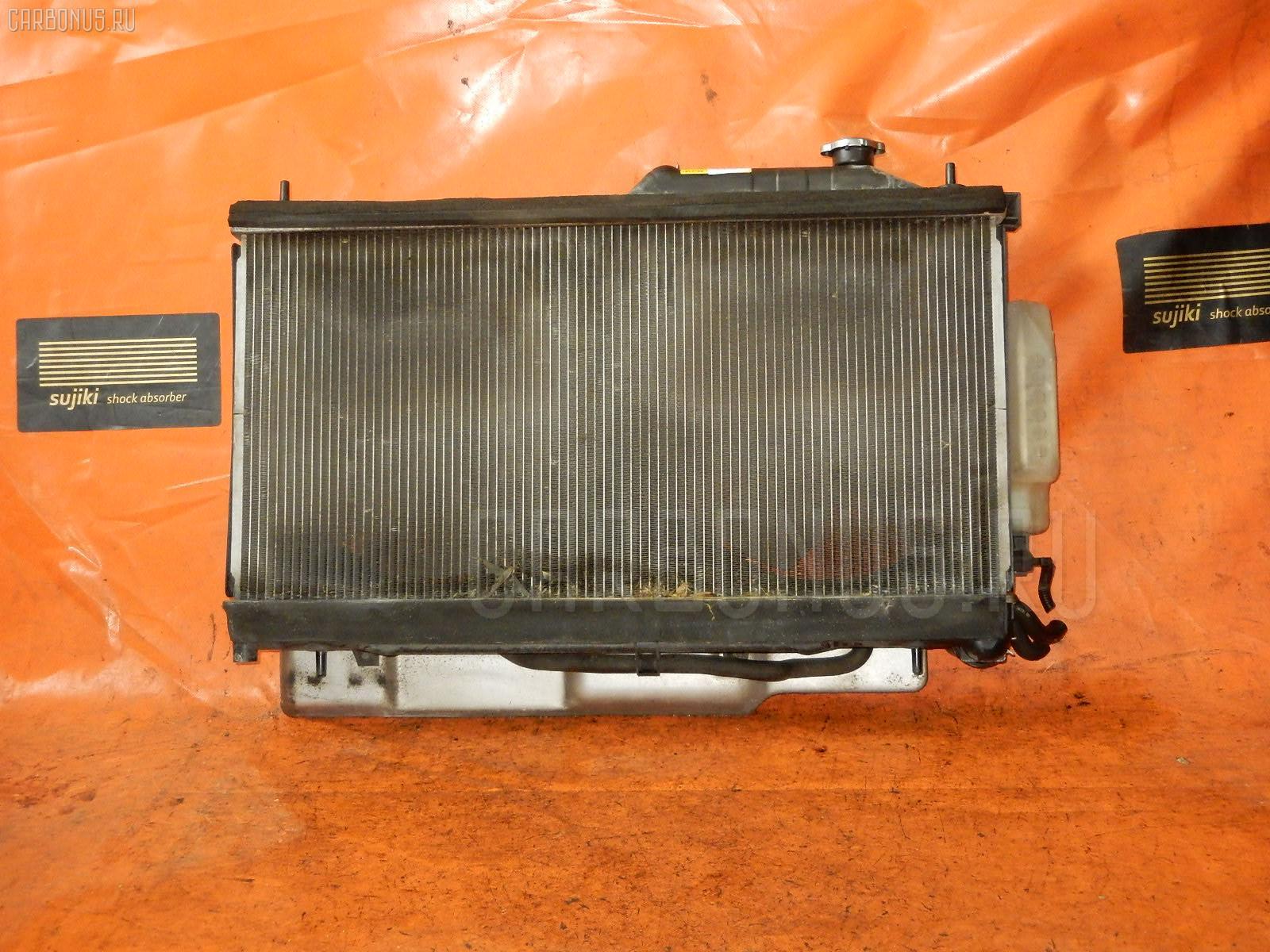Радиатор ДВС SUBARU LEGACY WAGON BP5 EJ20. Фото 10