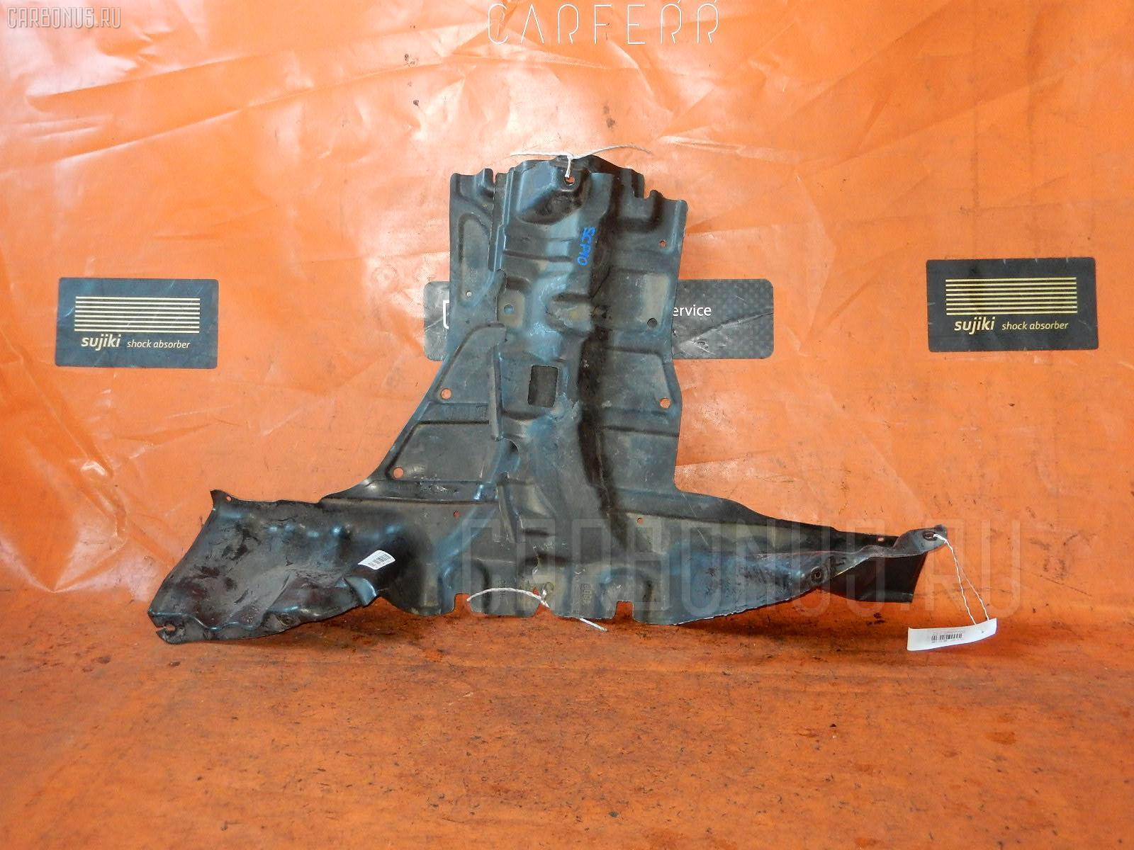 Защита двигателя TOYOTA VITZ SCP10 1SZ-FE. Фото 5