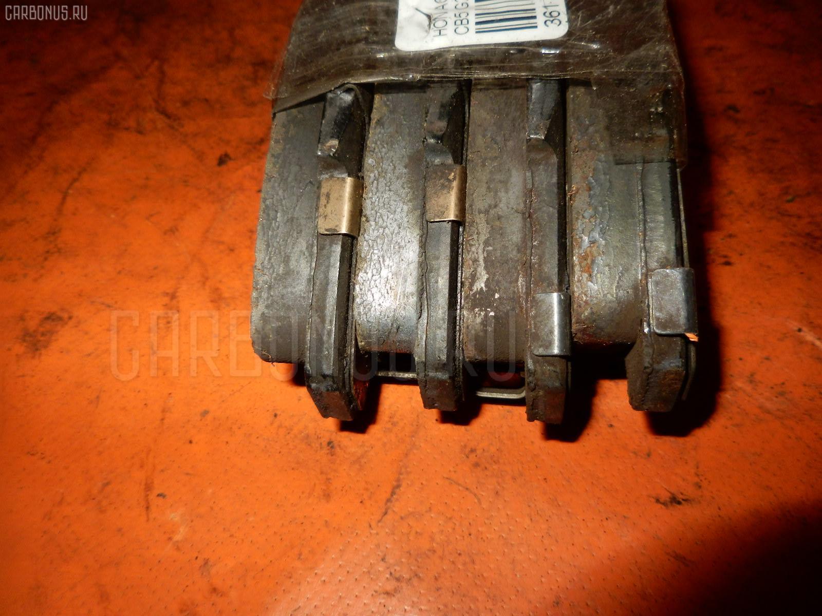 Тормозные колодки HONDA ACCORD INSPIRE CB5 G20A. Фото 2