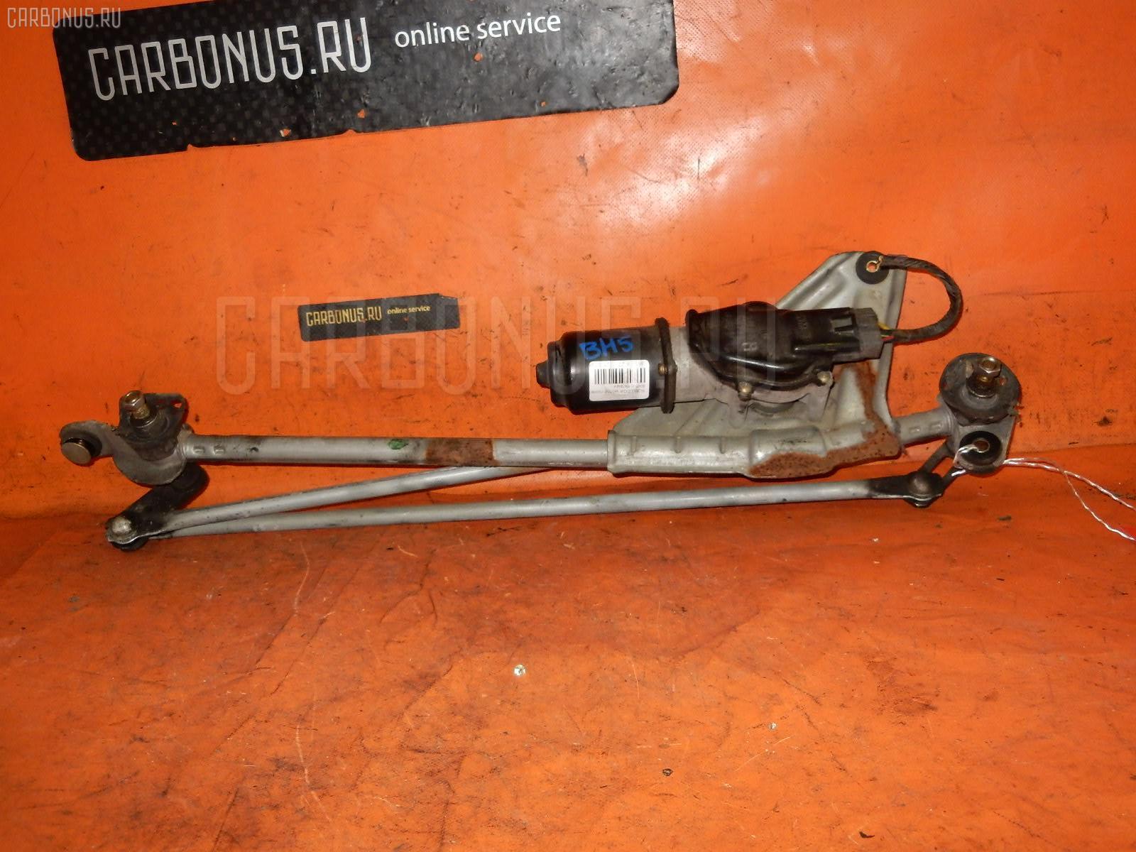 Мотор привода дворников SUBARU LEGACY WAGON BH5. Фото 6