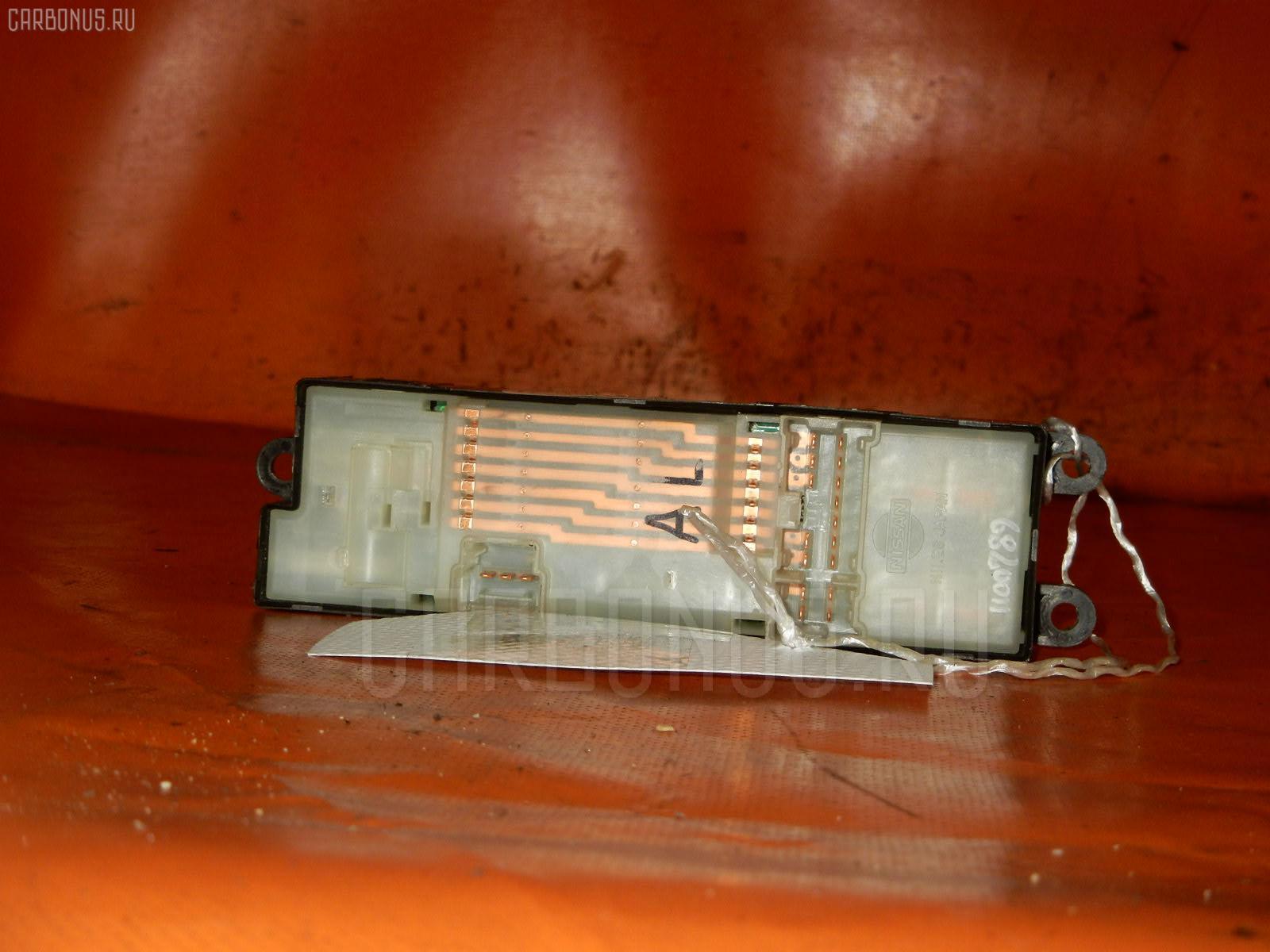 Блок упр-я стеклоподъемниками NISSAN X-TRAIL NT30. Фото 11