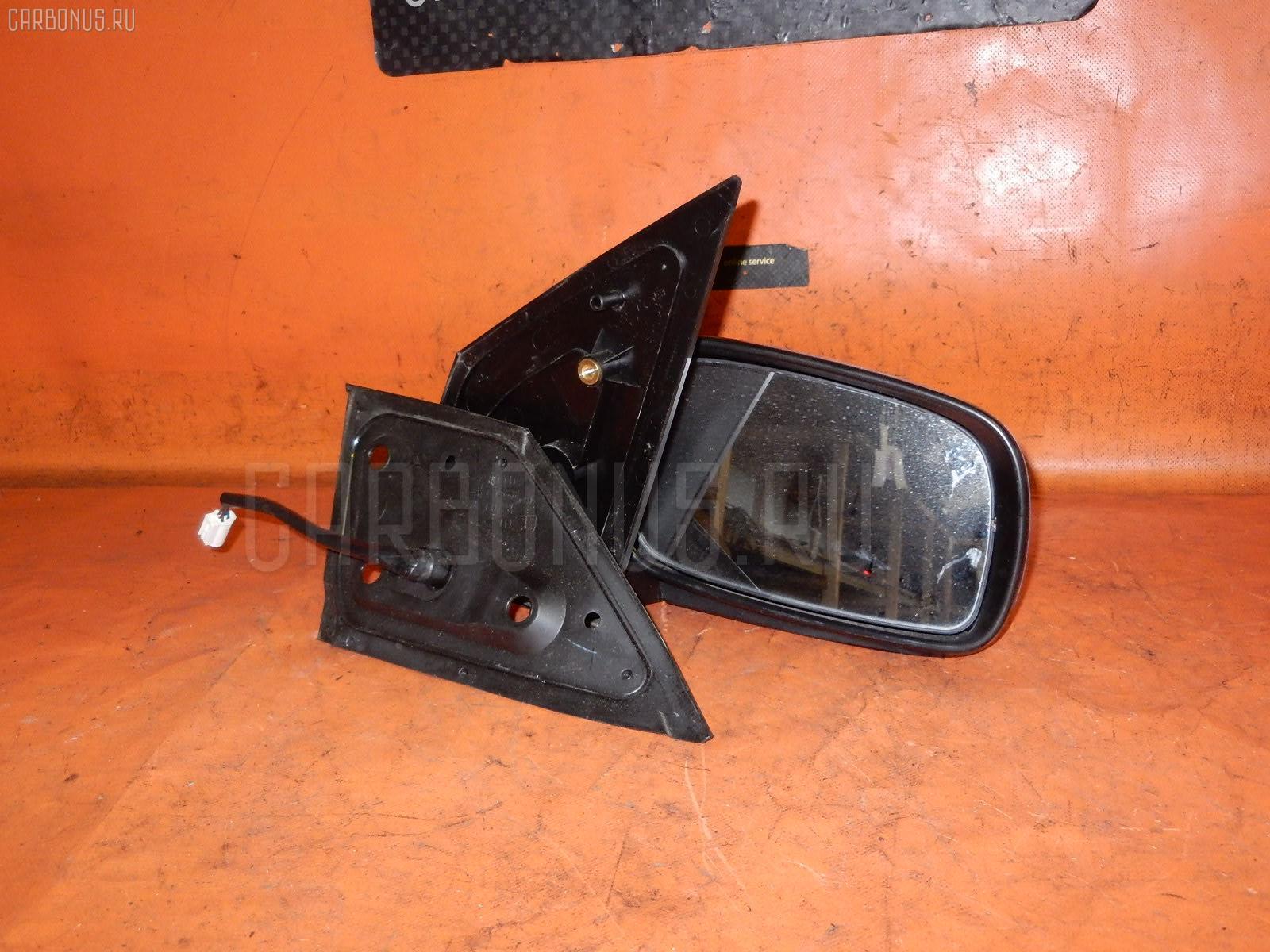Зеркало двери боковой TOYOTA PASSO QNC10. Фото 2