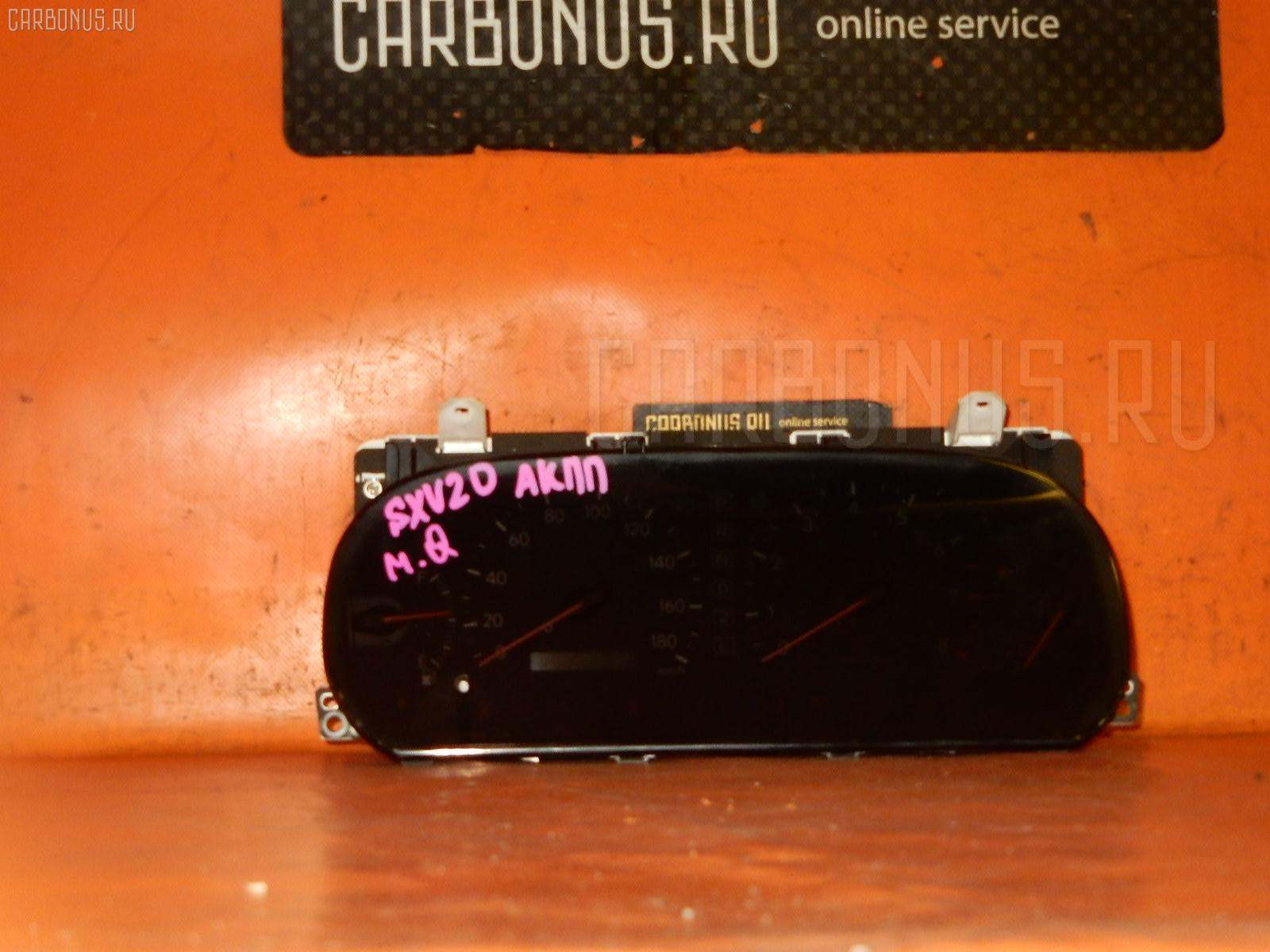 Спидометр TOYOTA MARK II QUALIS SXV20W 5S-FE. Фото 2