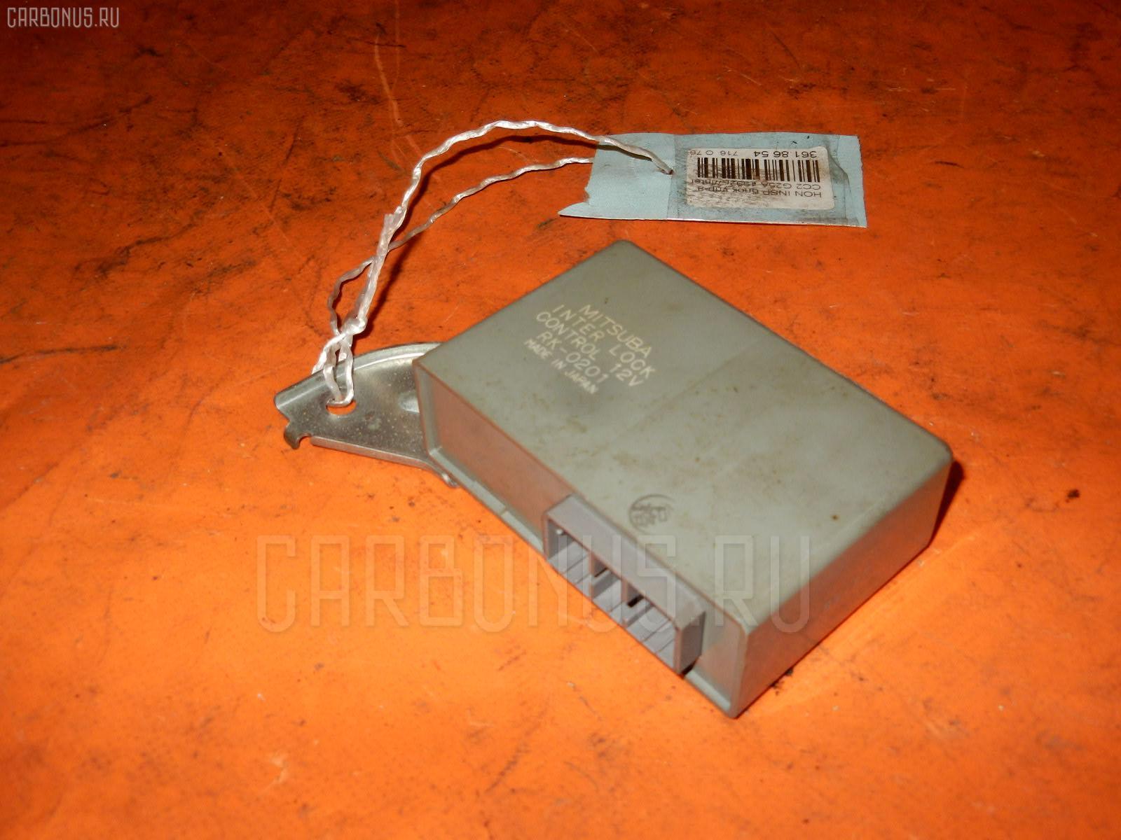 Блок упр-я Honda Inspire CC2 G25A Фото 1