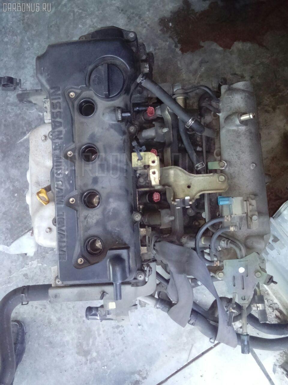 Двигатель NISSAN BLUEBIRD QU14 QG18DE. Фото 6