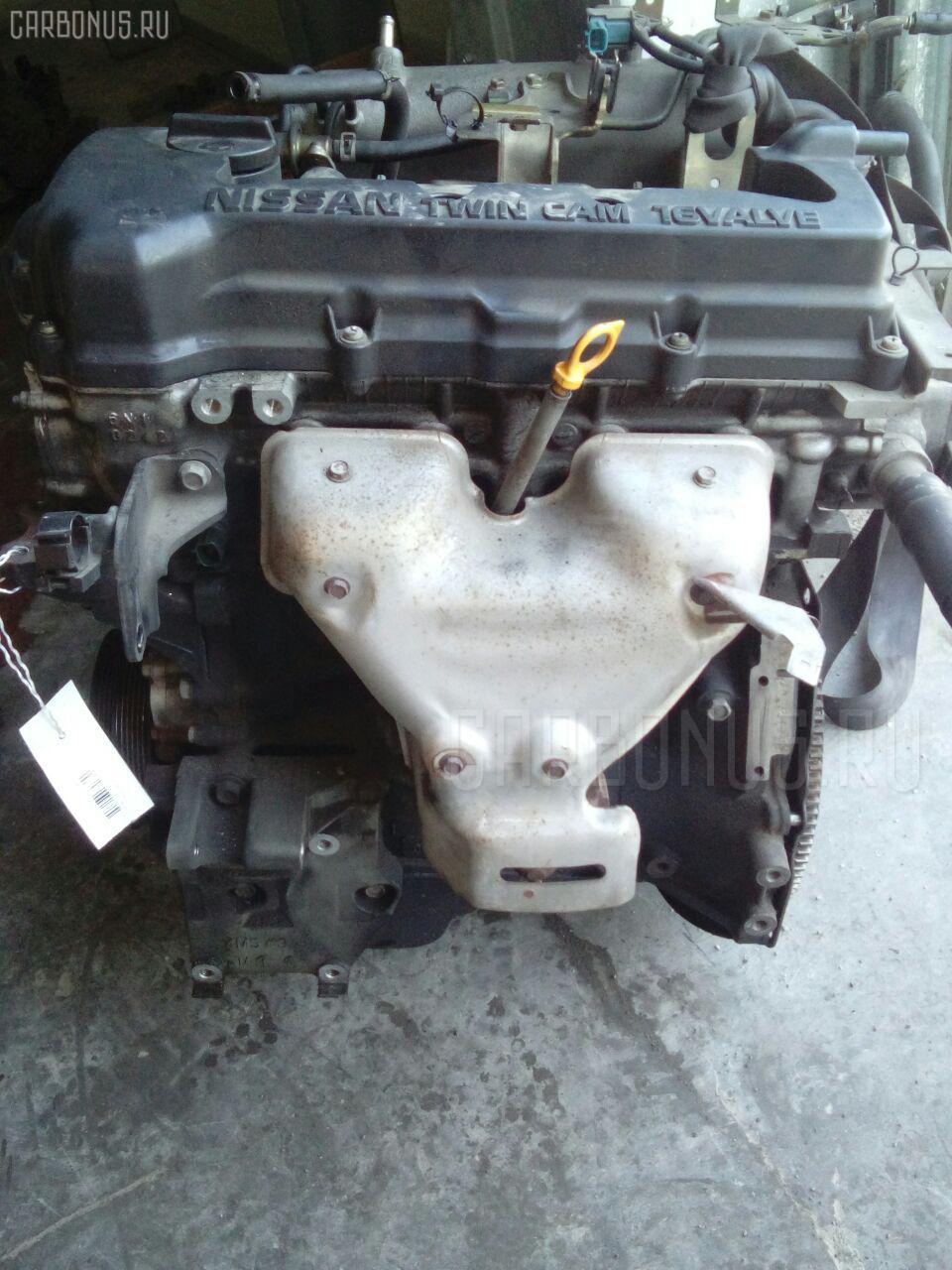 Двигатель NISSAN BLUEBIRD QU14 QG18DE. Фото 5