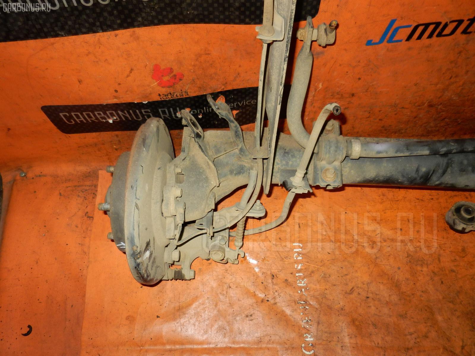 Балка подвески NISSAN PRIMERA TP12 QR20 DE. Фото 9