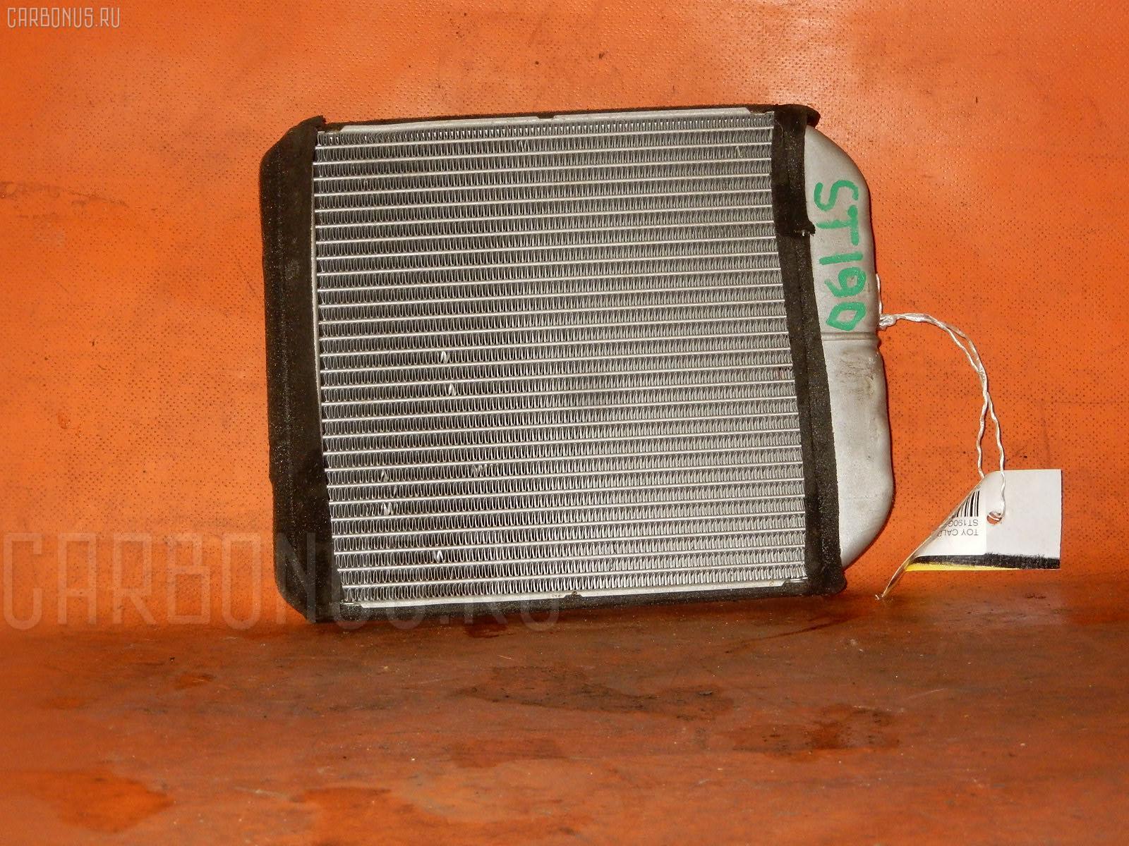 Радиатор печки TOYOTA CALDINA ST190G 4S-FE. Фото 3