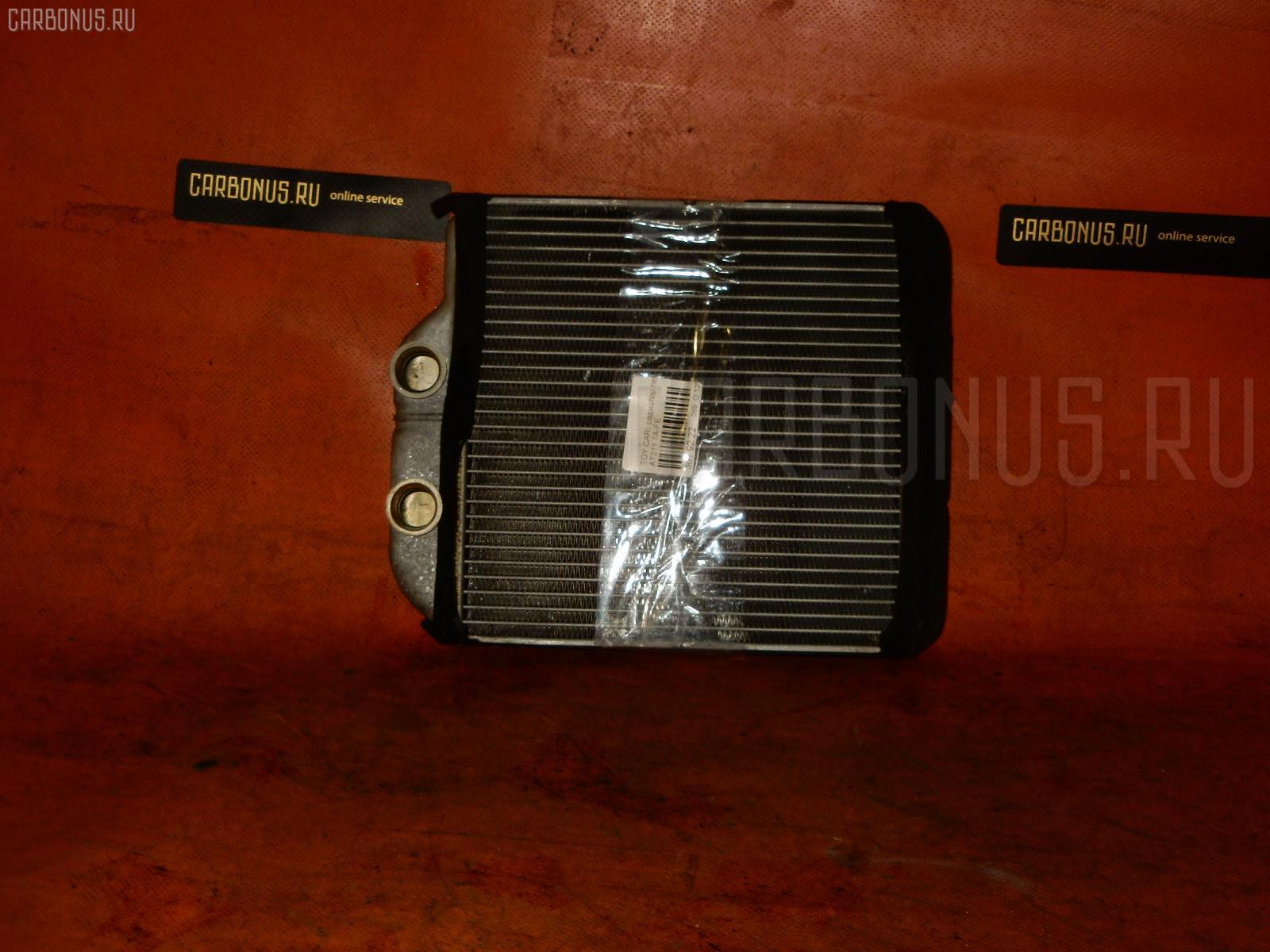 Радиатор печки TOYOTA CARINA AT211 7A-FE. Фото 6
