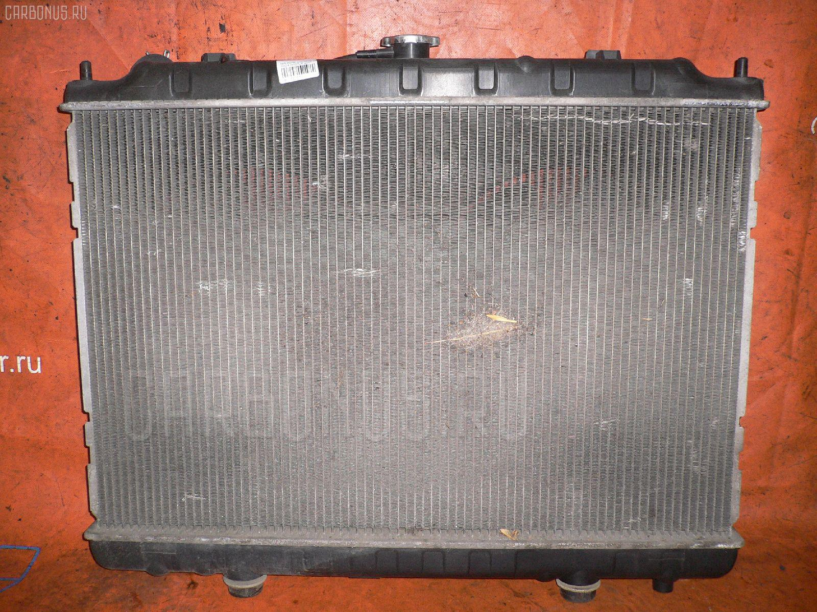 Радиатор ДВС NISSAN SERENA PC24 SR20DE. Фото 11