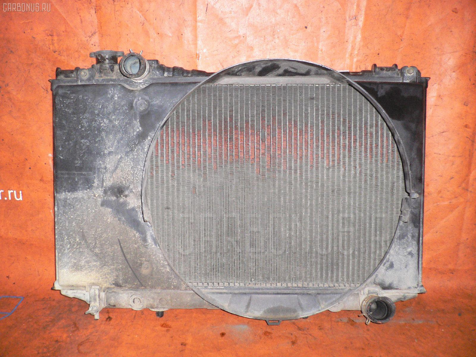 Радиатор ДВС TOYOTA MARK II WAGON GX70G 1G-FE. Фото 2