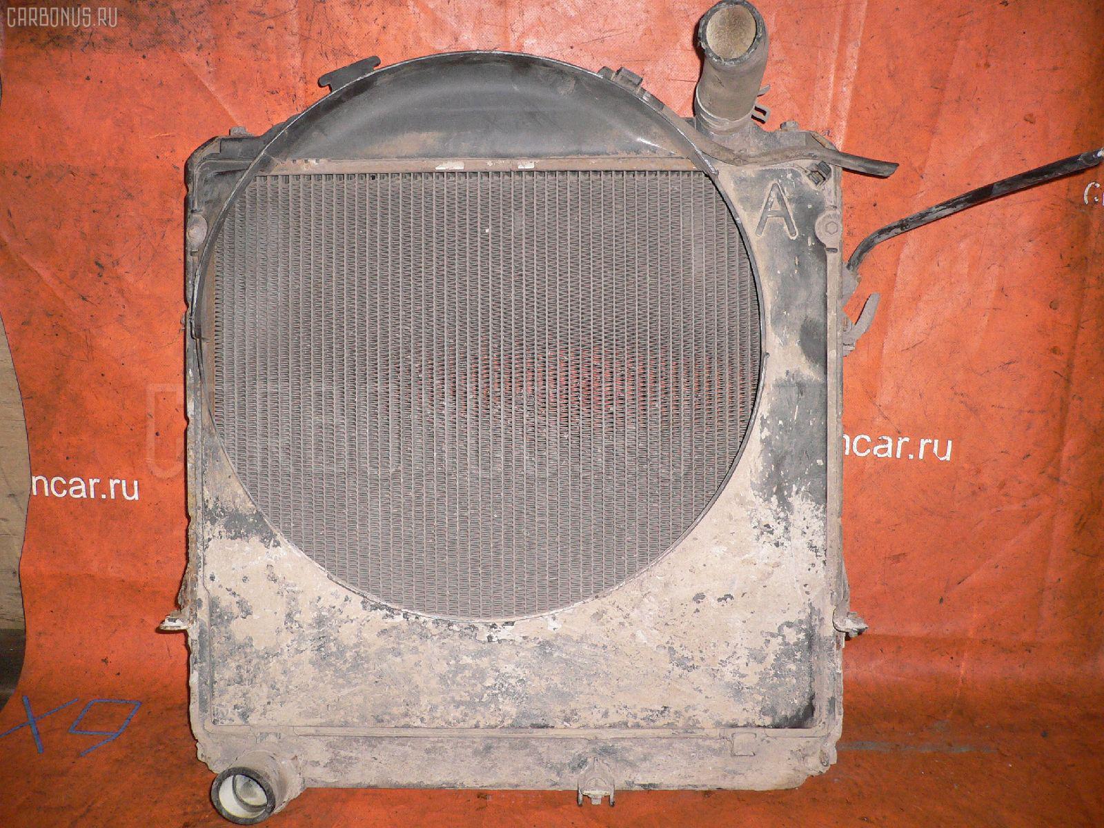 Радиатор ДВС TOYOTA DYNA BU102 15B-F Фото 1