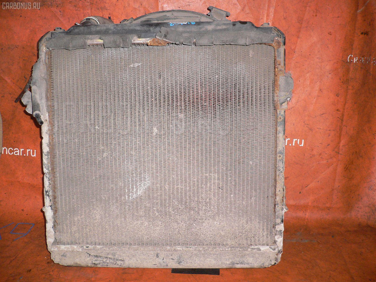 Радиатор ДВС TOYOTA DYNA BU102 15B-F Фото 2