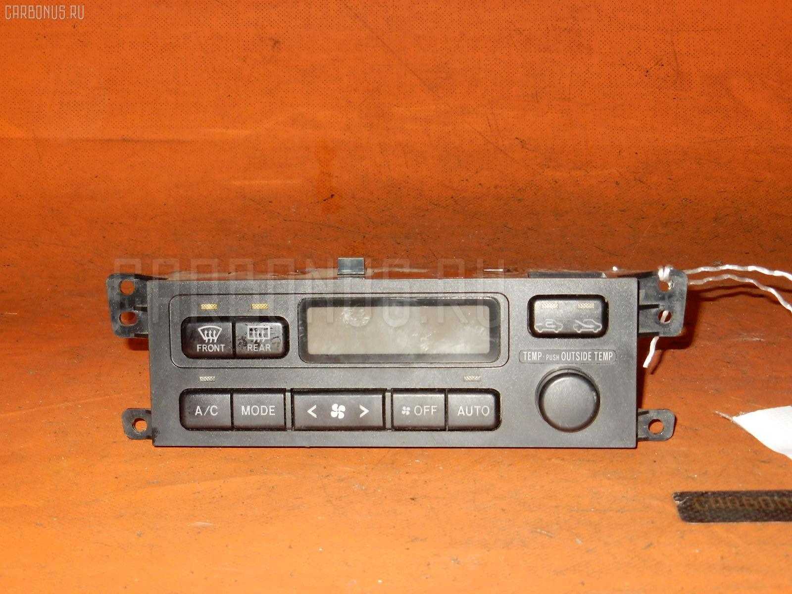 Блок управления климатконтроля Toyota Caldina ST210G 3S-FE Фото 1