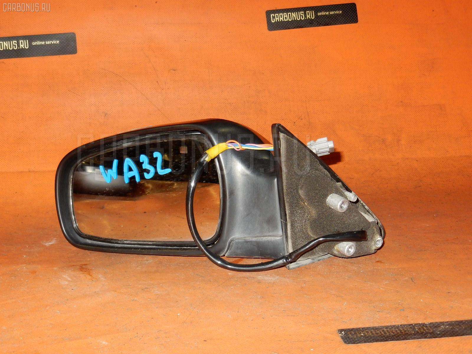 Зеркало двери боковой NISSAN CEFIRO WAGON WA32. Фото 4