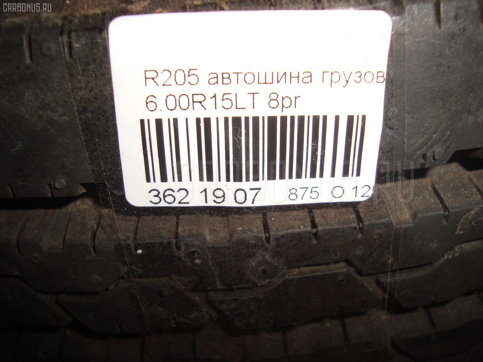 Автошина грузовая летняя Bridgeston R205 6.00R15LT BRIDGESTONE Фото 5