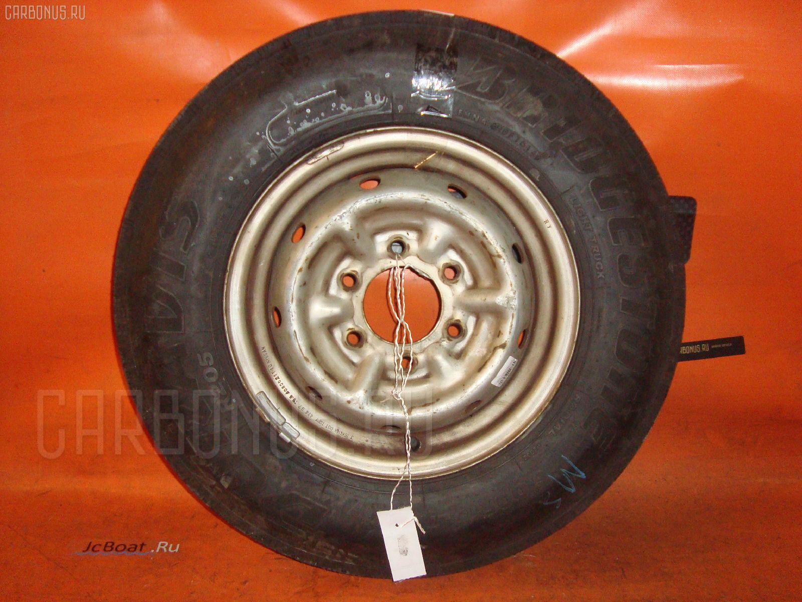 Автошина грузовая летняя Bridgeston R205 6.00R15LT BRIDGESTONE Фото 3