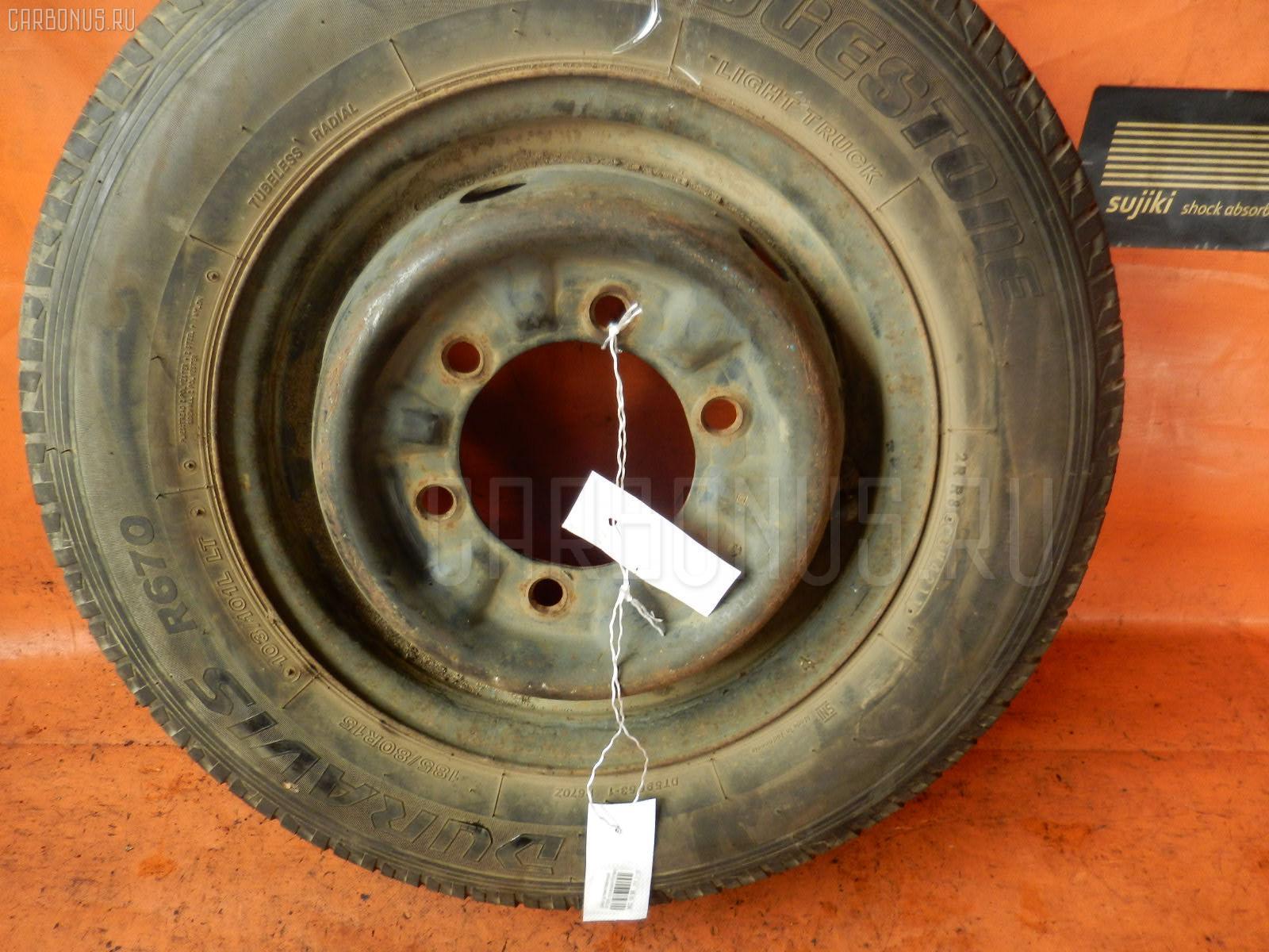 Диск штамповка грузовой R15LT / центр.отв.133мм Фото 1