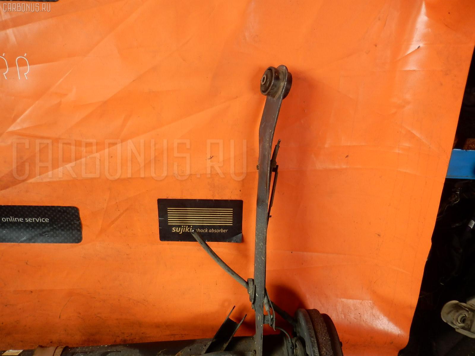 Балка подвески NISSAN WINGROAD WFY11 QG15DE. Фото 3