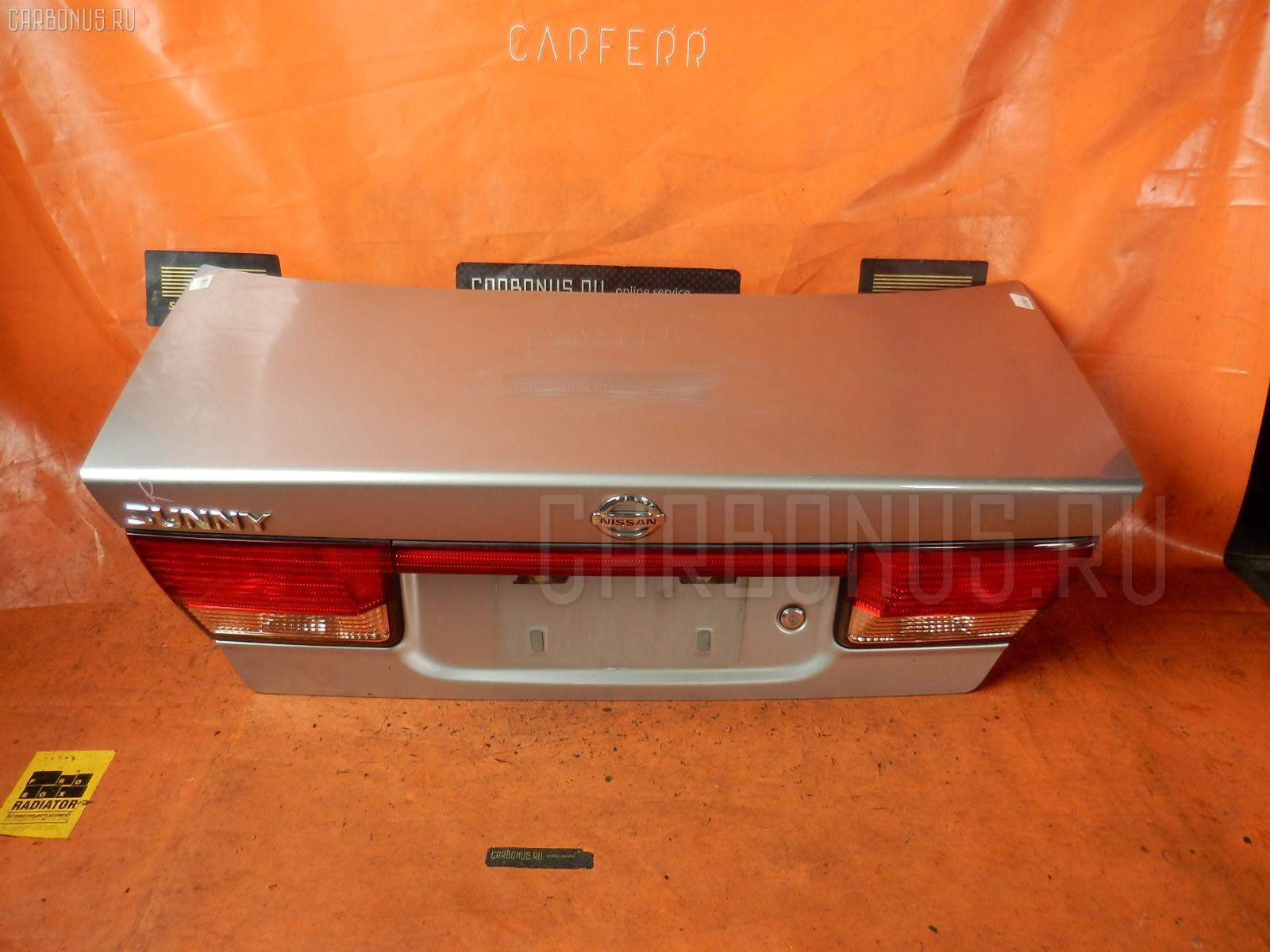 Крышка багажника NISSAN SUNNY FB15. Фото 3