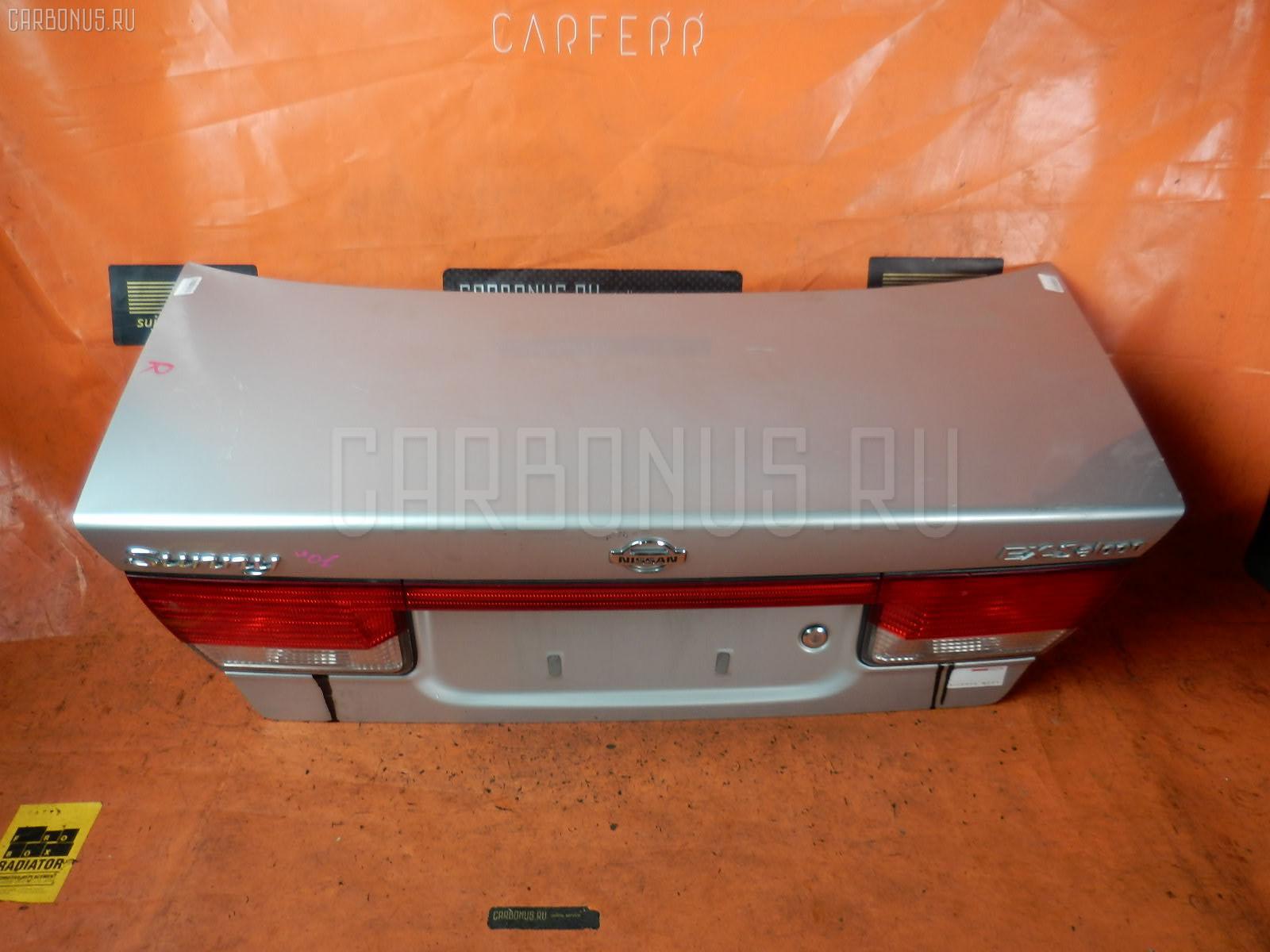 Крышка багажника NISSAN SUNNY FB15. Фото 6