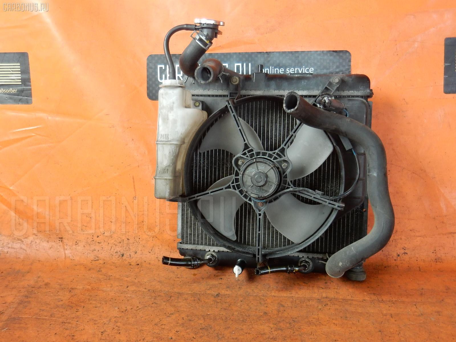 Радиатор ДВС HONDA FIT GD4 L15A. Фото 1