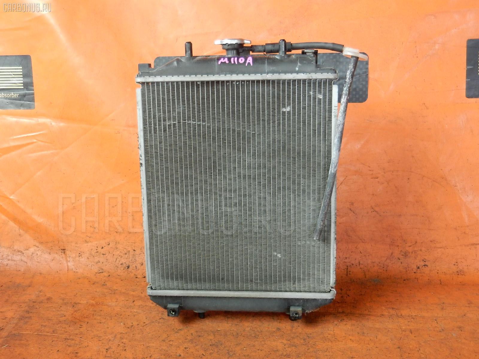 Радиатор ДВС TOYOTA DUET M110A EJ-DE. Фото 2