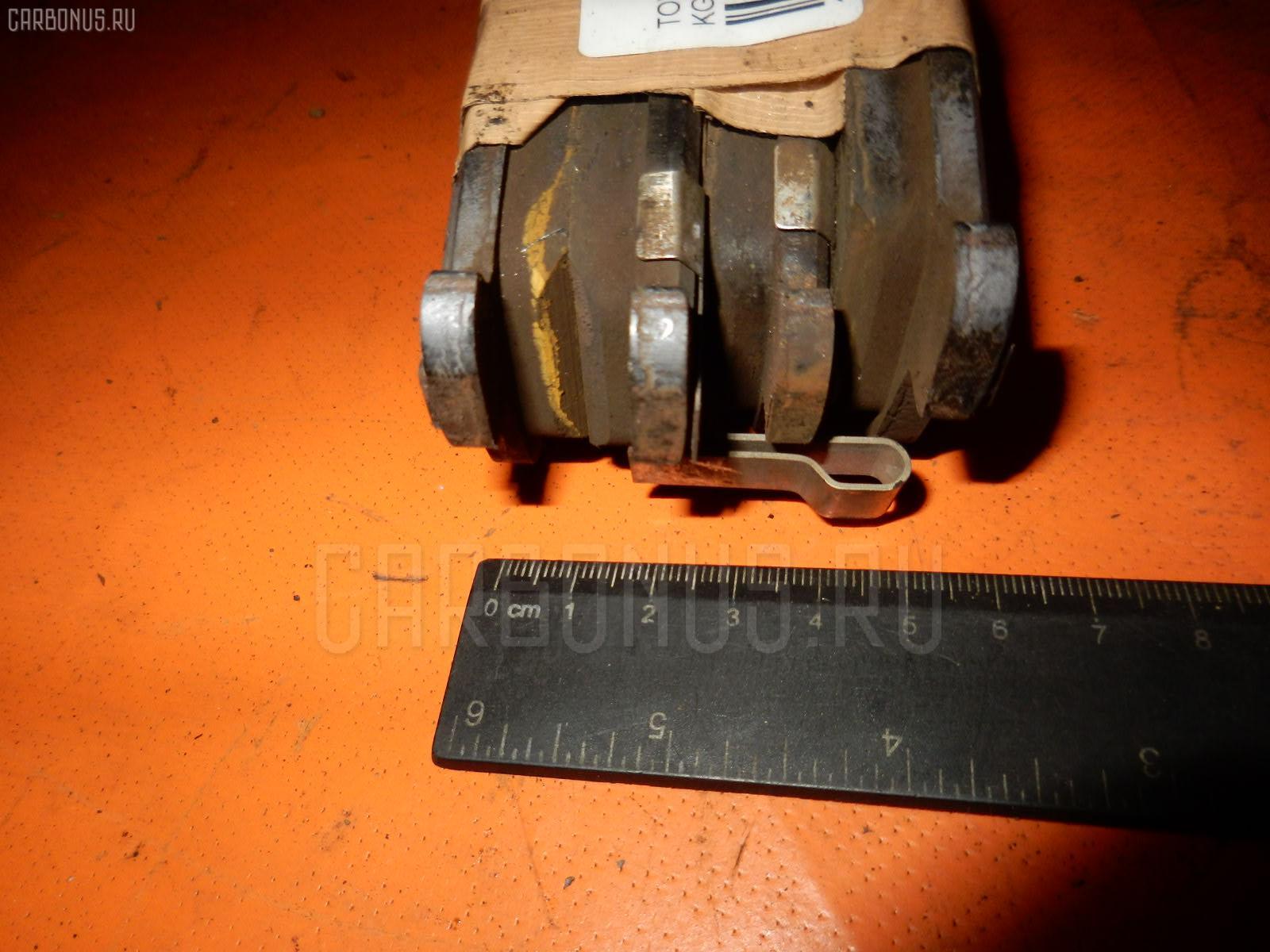 Тормозные колодки TOYOTA PASSO KGC10 1KR-FE. Фото 1