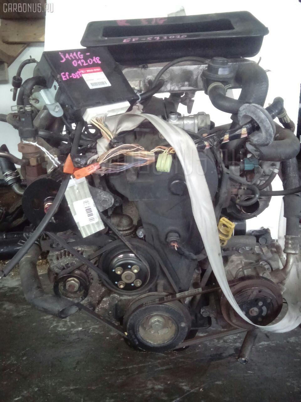 Двигатель DAIHATSU TERIOS KID J111G EF-DET Фото 5