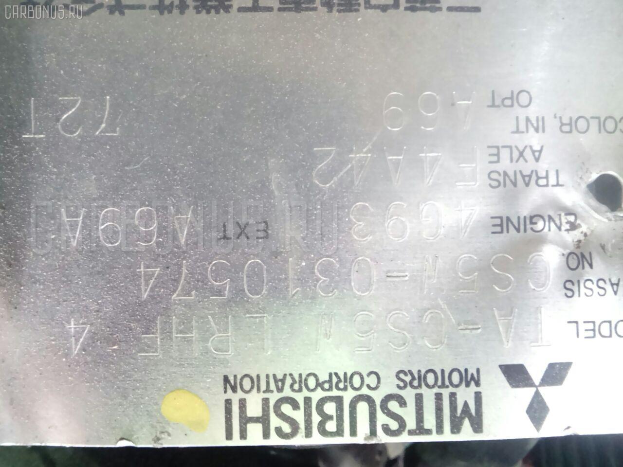 КПП автоматическая MITSUBISHI LANCER CEDIA WAGON CS5W 4G93T Фото 6