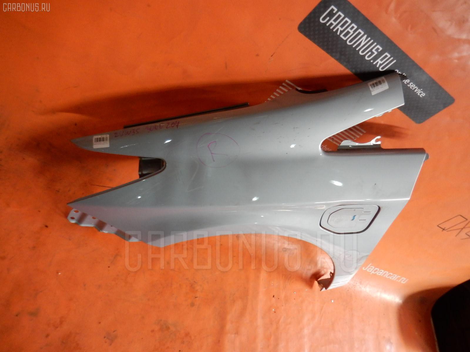 Крыло переднее TOYOTA PRIUS ZVW35 Фото 1