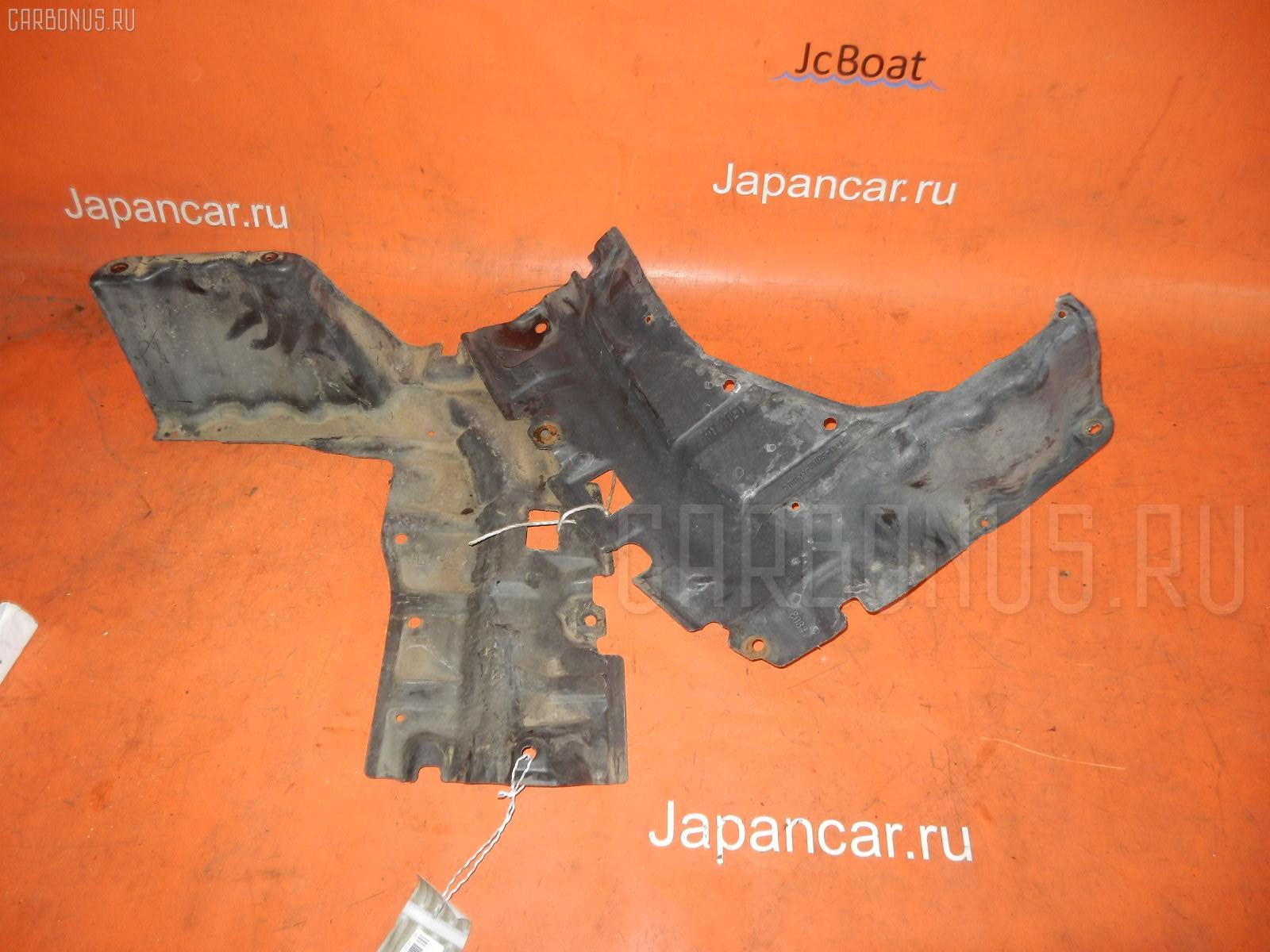 Защита двигателя TOYOTA FUNCARGO NCP20 2NZ-FE. Фото 6
