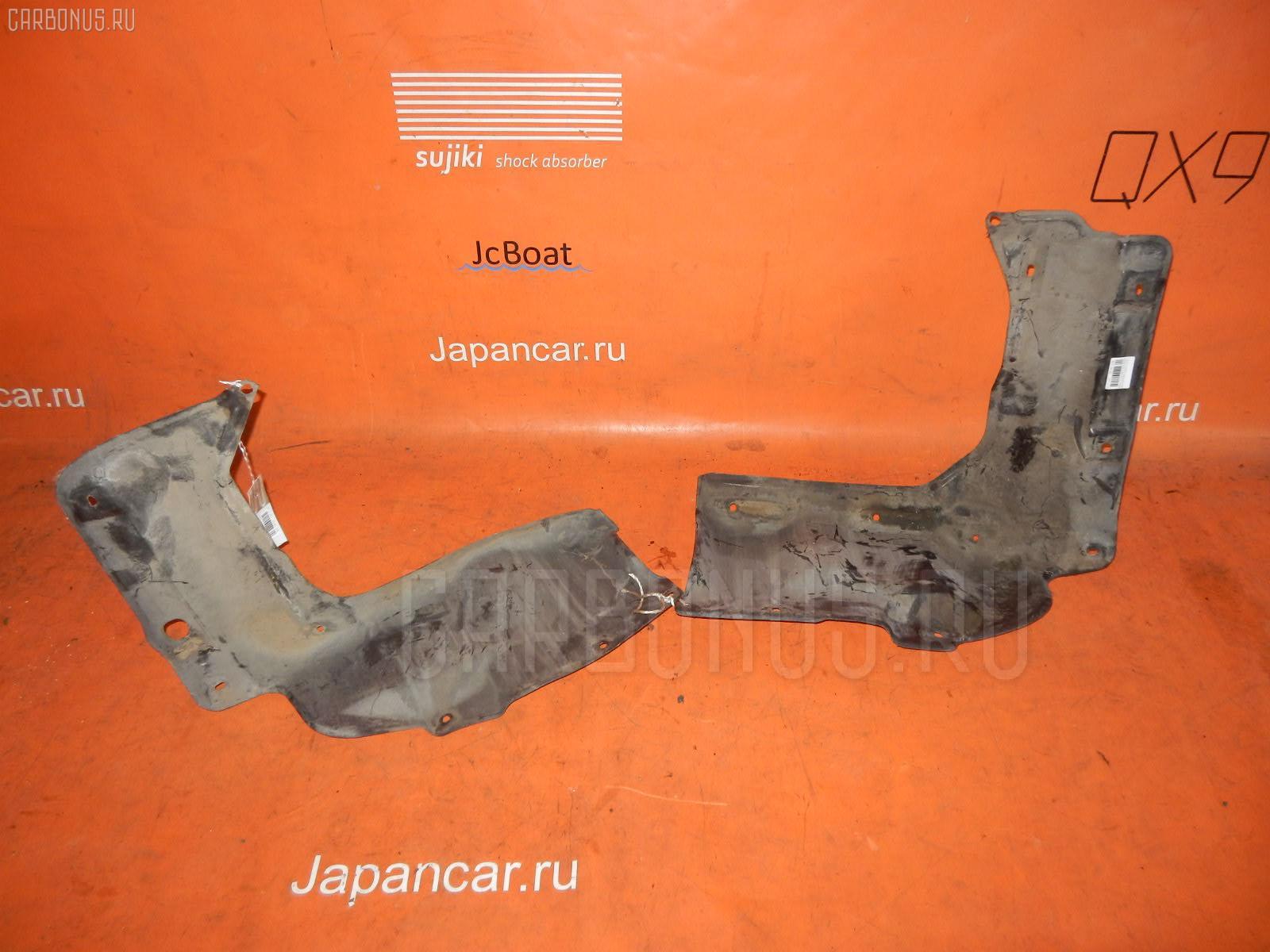 Защита двигателя TOYOTA COROLLA RUNX NZE121 1NZ-FE. Фото 7