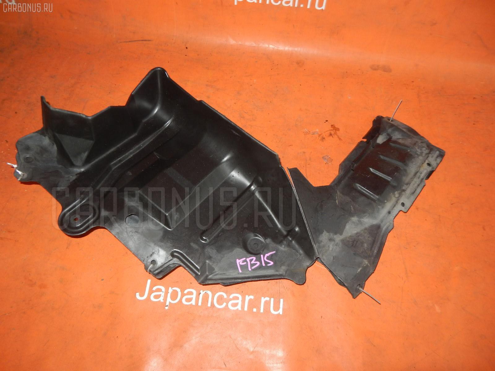 Защита двигателя NISSAN SUNNY FB15 QG15DE. Фото 6