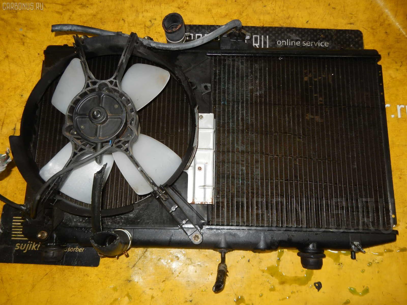 Радиатор ДВС TOYOTA COROLLA AE114 4A-FE. Фото 3