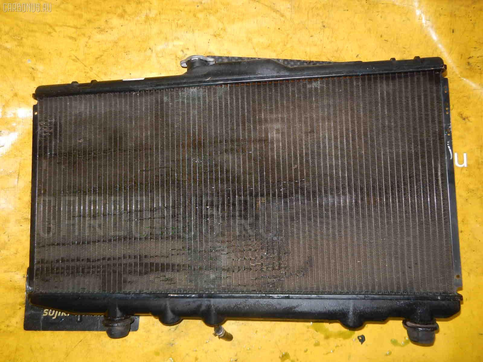Радиатор ДВС TOYOTA COROLLA AE114 4A-FE. Фото 4