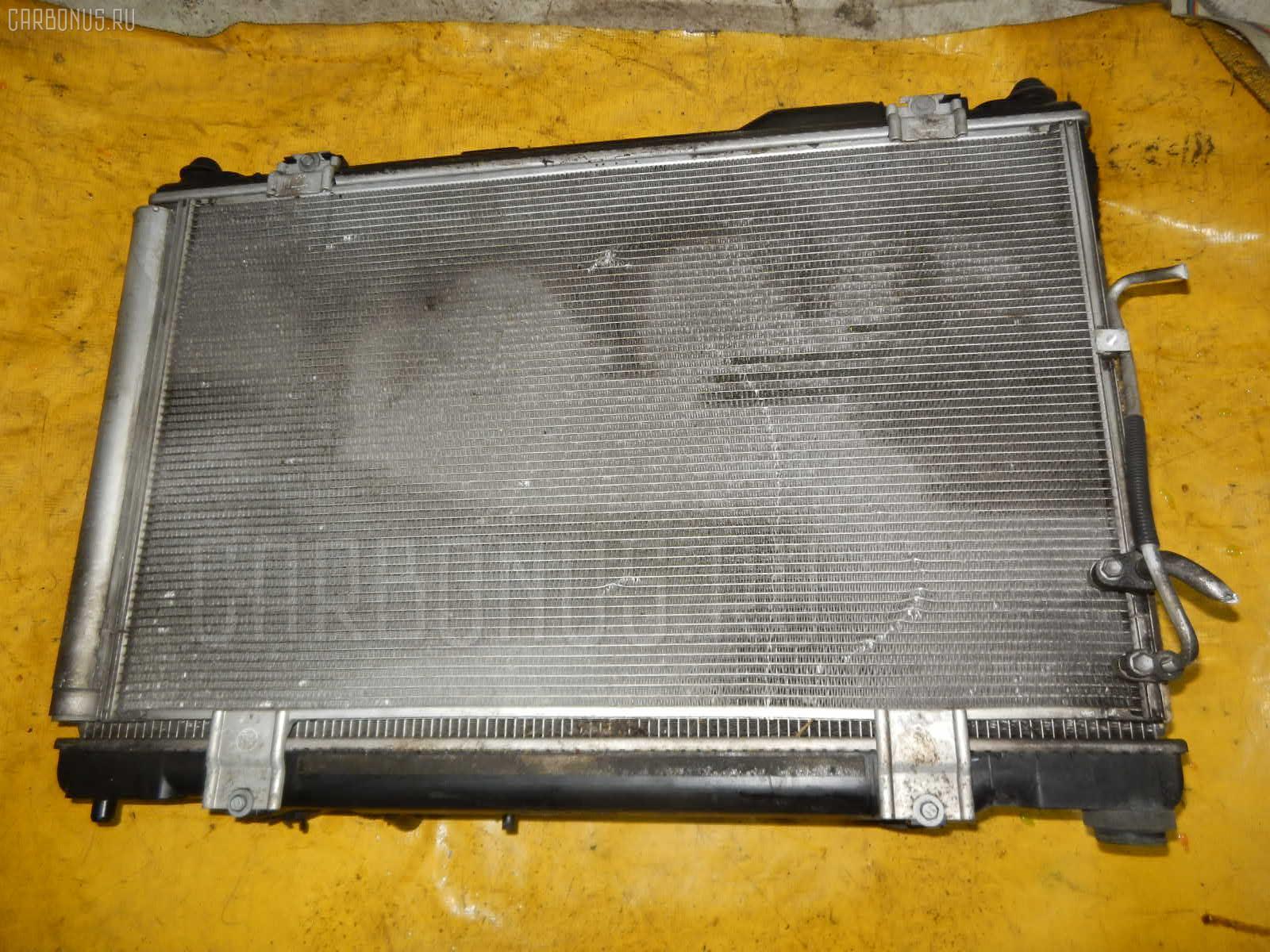 Радиатор ДВС TOYOTA CROWN GRS182 3GR-FSE. Фото 7