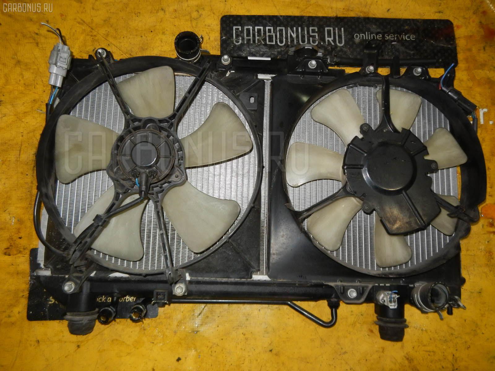 Радиатор ДВС TOYOTA CORONA ST191 3S-FE. Фото 7