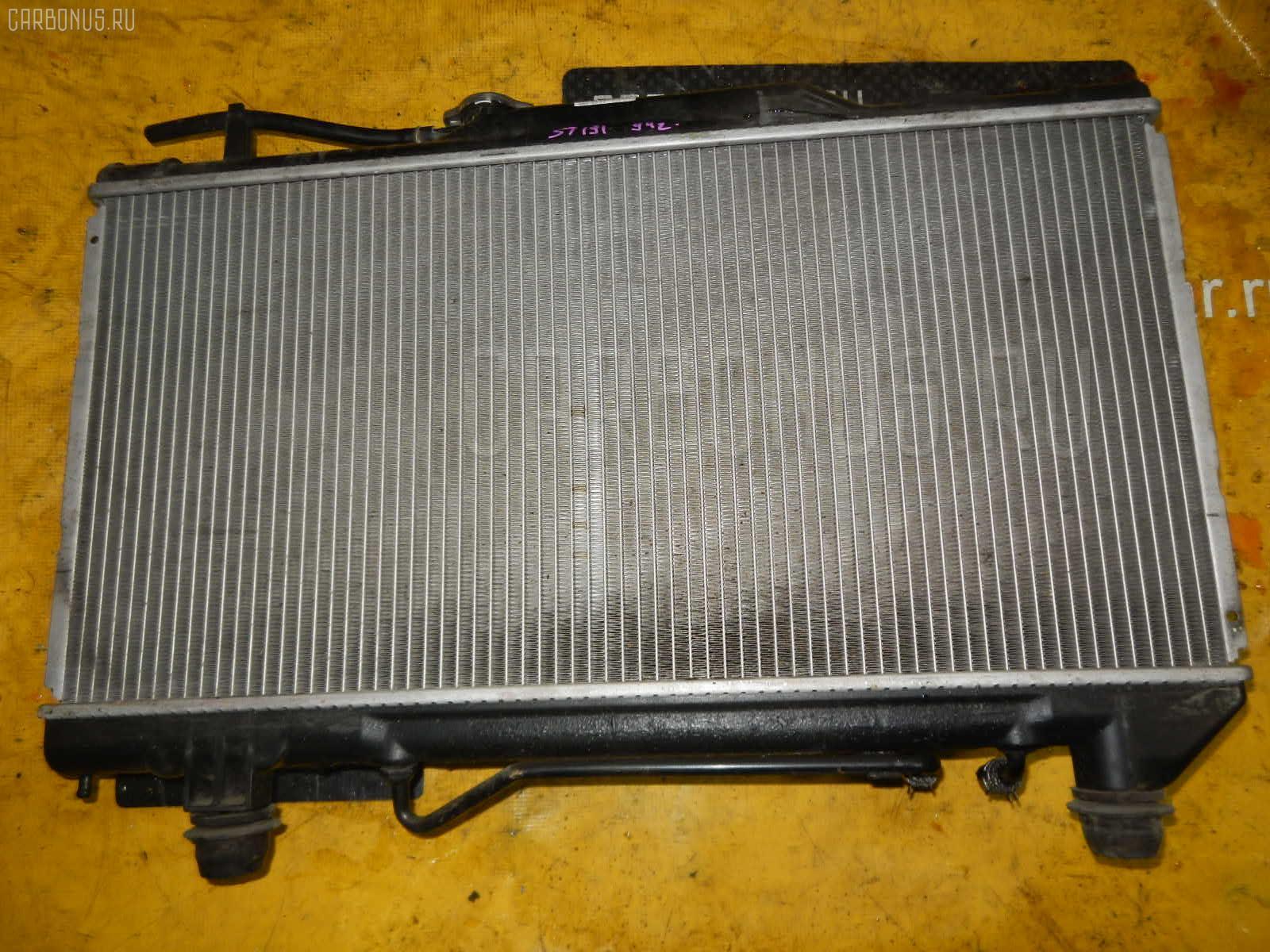 Радиатор ДВС TOYOTA CALDINA ST191G 3S-FE. Фото 8