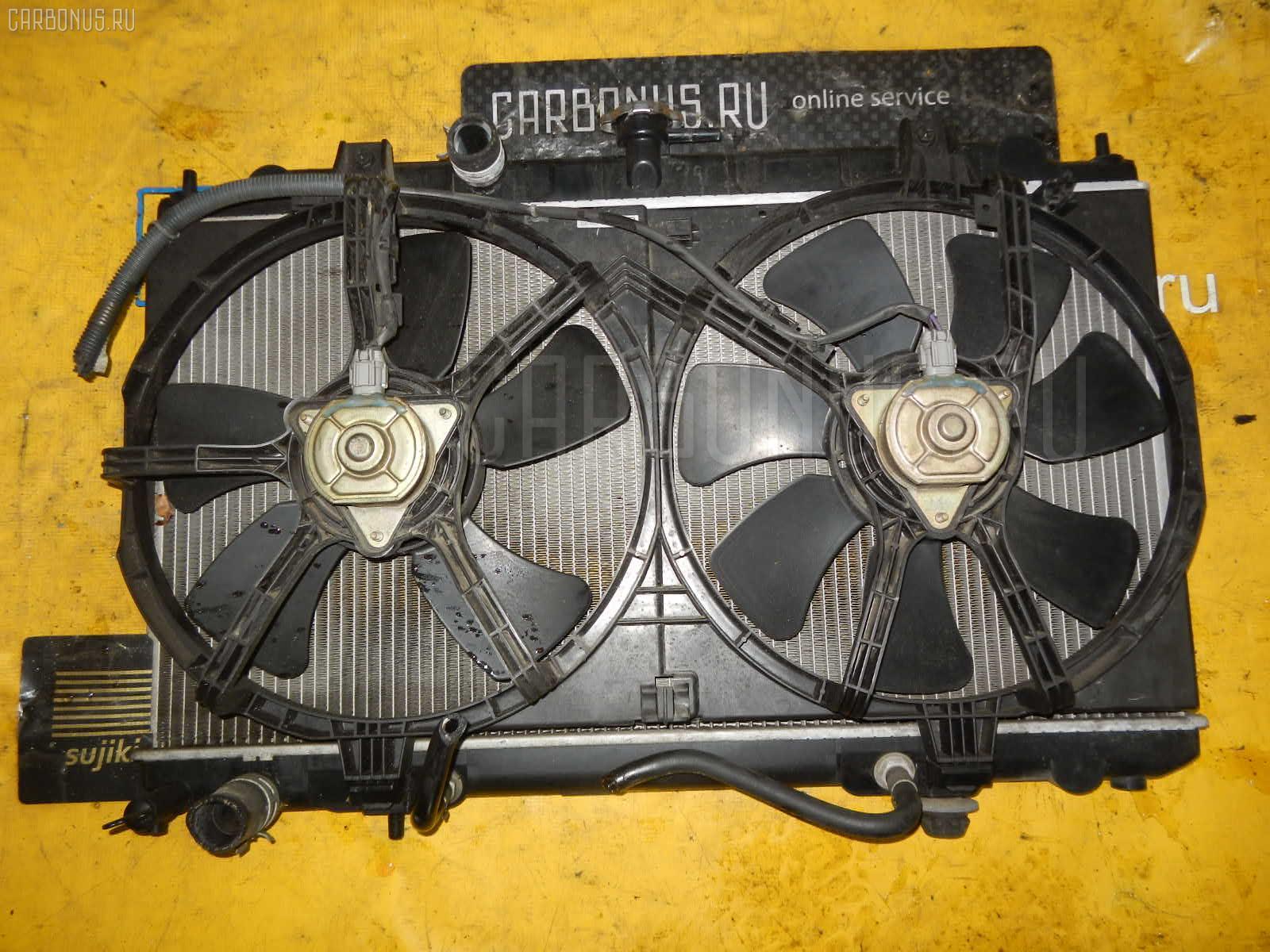 Радиатор ДВС NISSAN BLUEBIRD SYLPHY QG10 QG18DE. Фото 9
