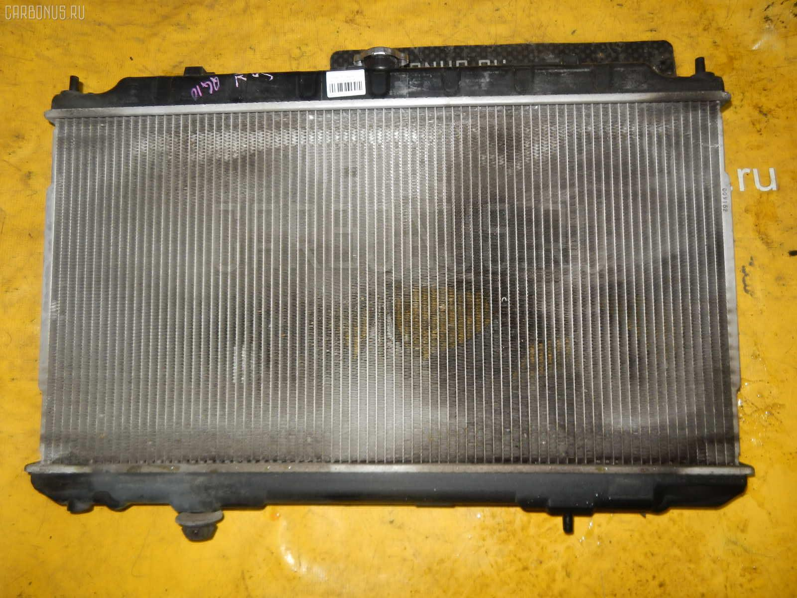 Радиатор ДВС NISSAN BLUEBIRD SYLPHY QG10 QG18DE. Фото 8