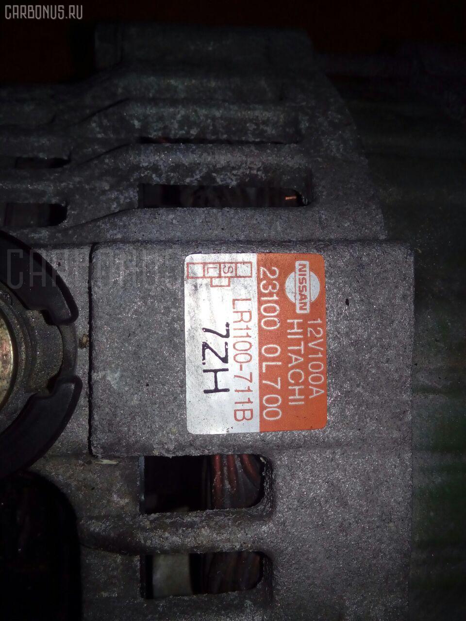 Генератор NISSAN CEFIRO WAGON WA32 VQ20DE Фото 1