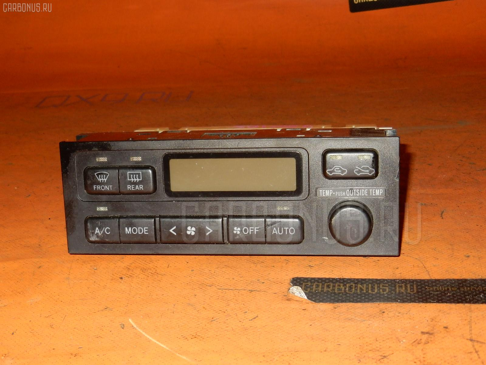 Блок управления климатконтроля TOYOTA MARK II JZX105 1JZ-GE. Фото 3